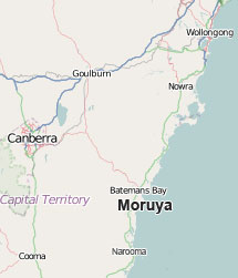Location of Moruya Braemar farm real estate